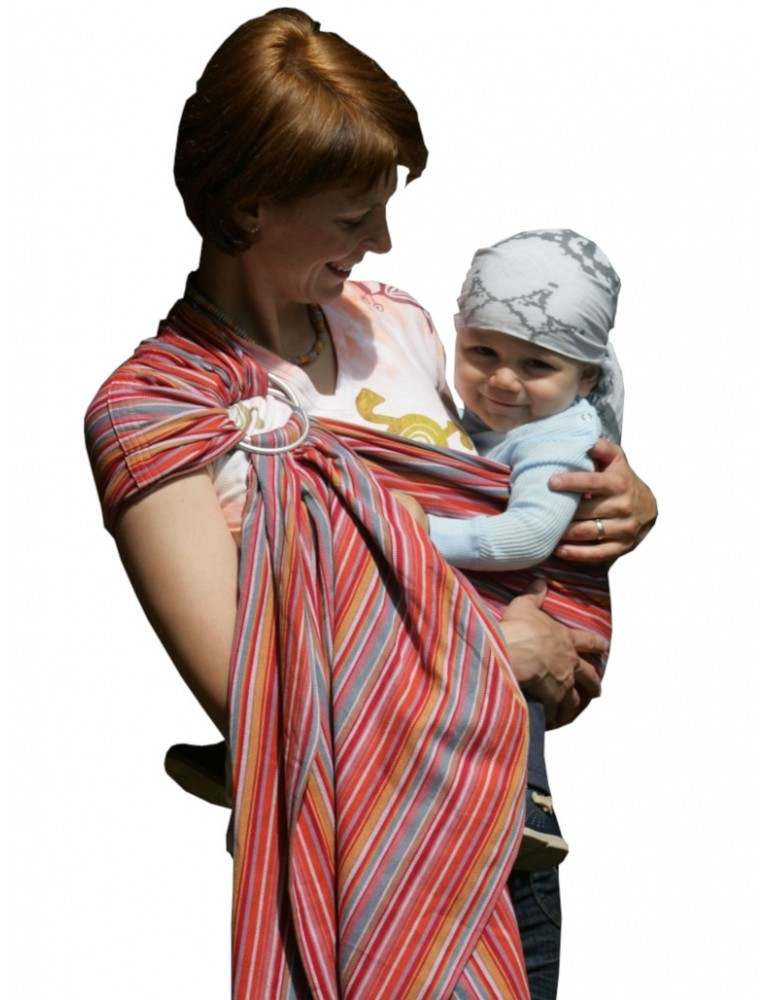 Storchenwiege Ring Sling Lilly