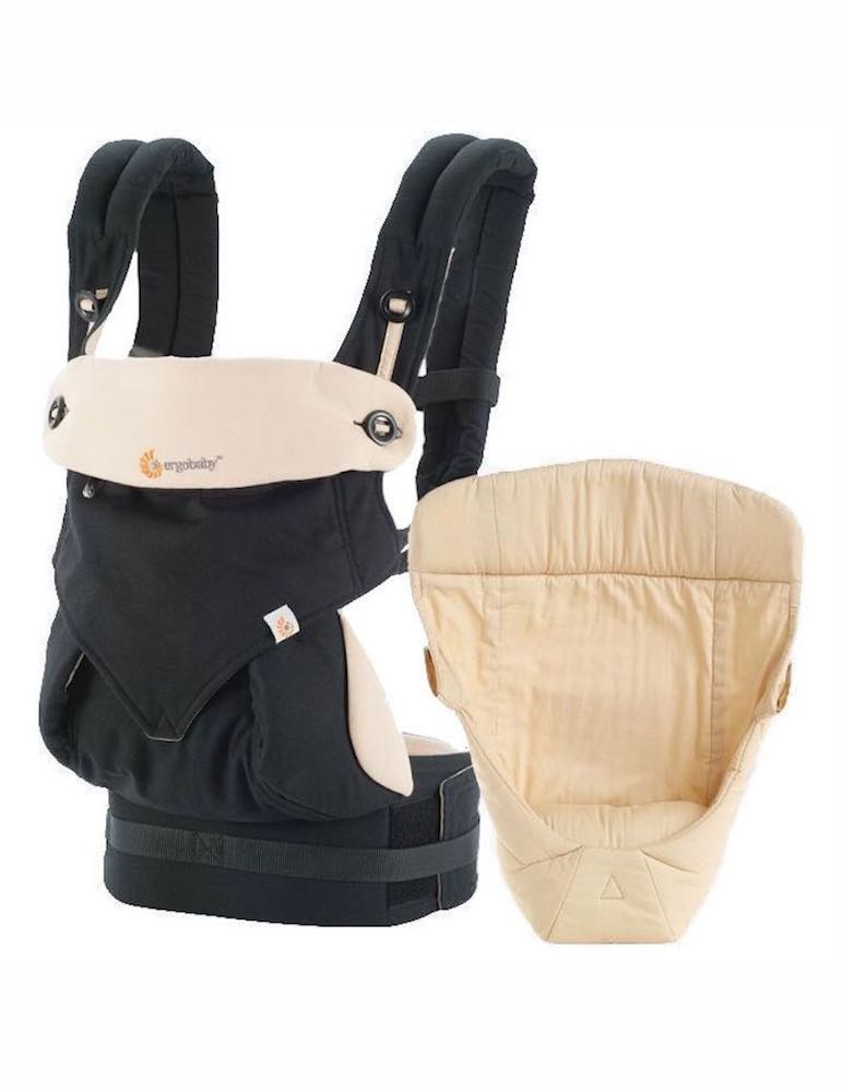 Ergobaby 360 All Positions Baby Carrier - Bundle Of Joy Black/Camel