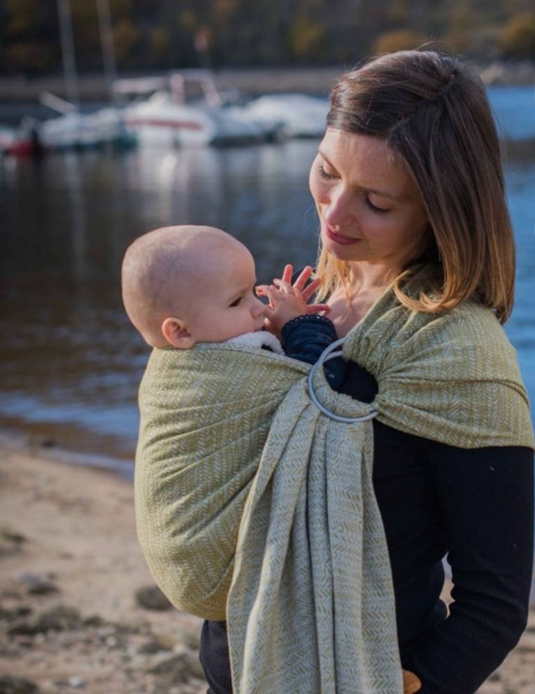 Neobulle Ring Sling Jungle SeaCell Olive