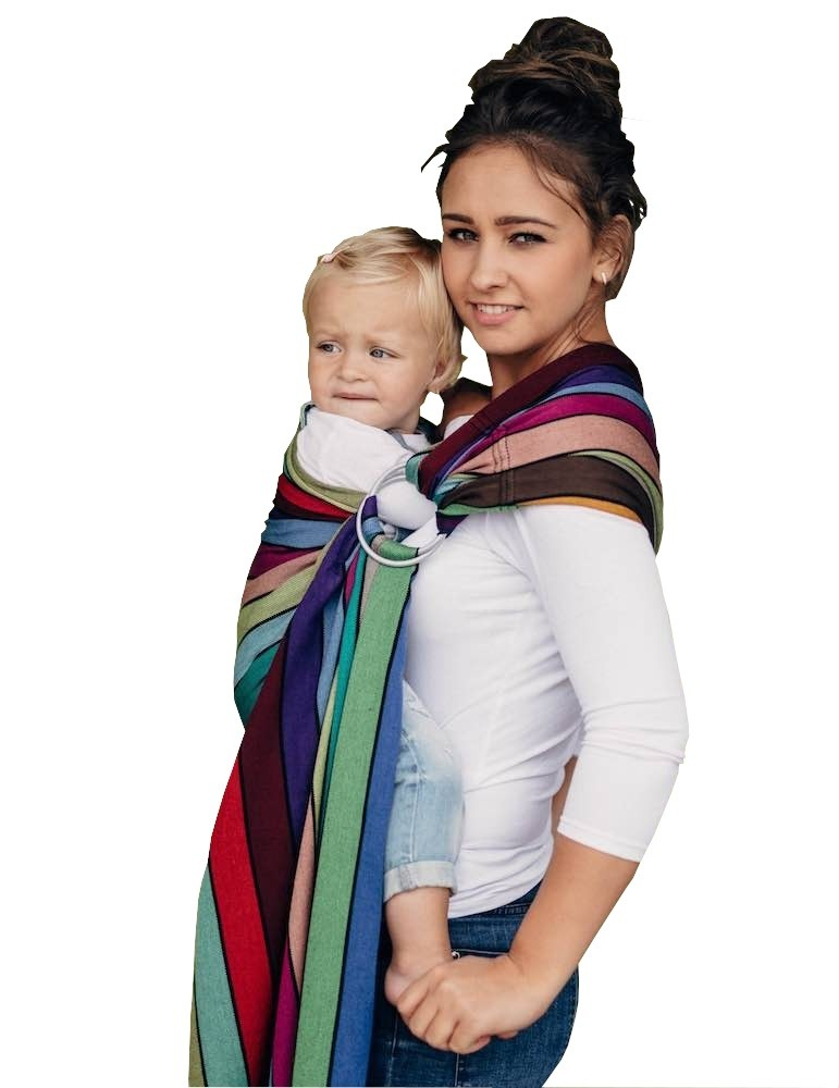 LennyLamb RingSling Carousel of Colors