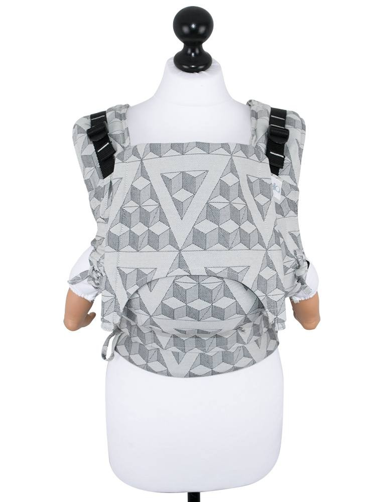 Fidella Fusion Babysize Full Buckle Baby Carrier Tri-Cubes Washed Rock