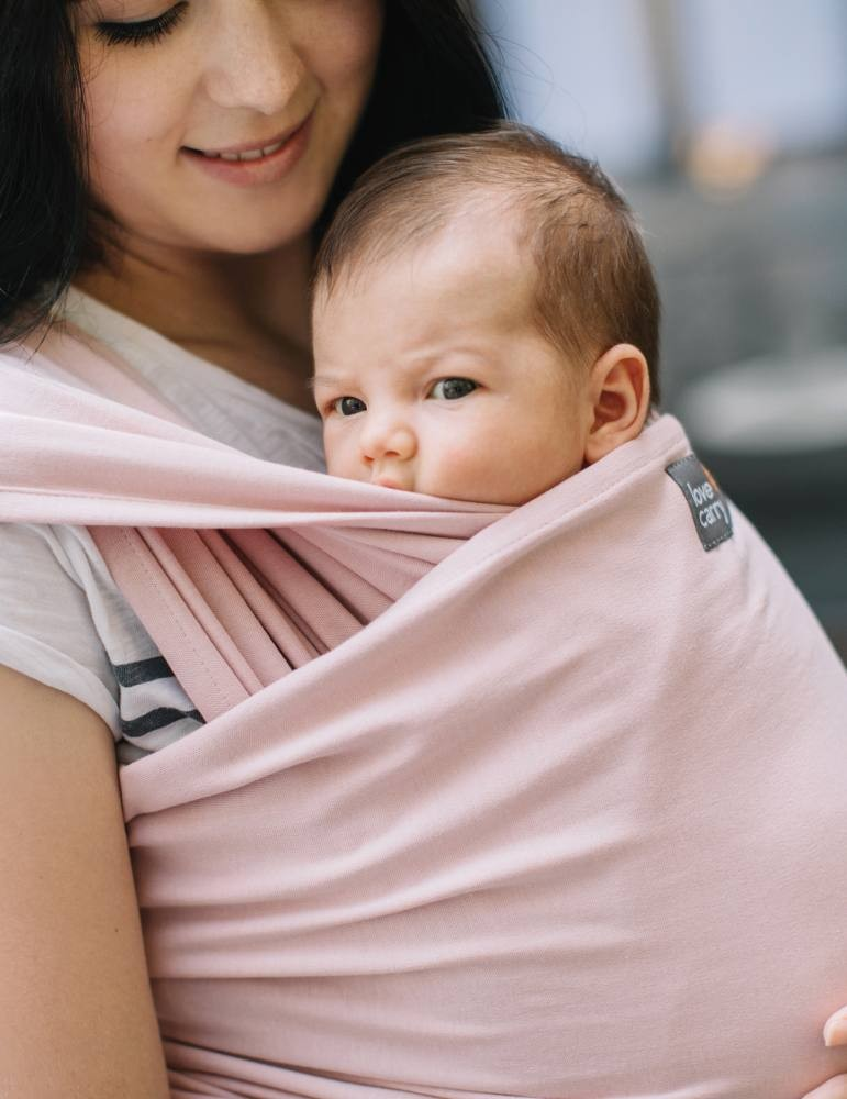 Orchid Love and Carry Stretchy Baby Wrap