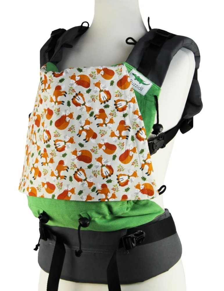 Buzzidil XL Adjustable Carrier Happy Foxes