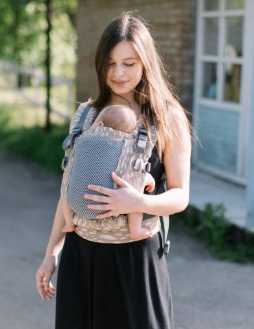 Love & Carry ONE+ Cool Newborn Baby Carrier