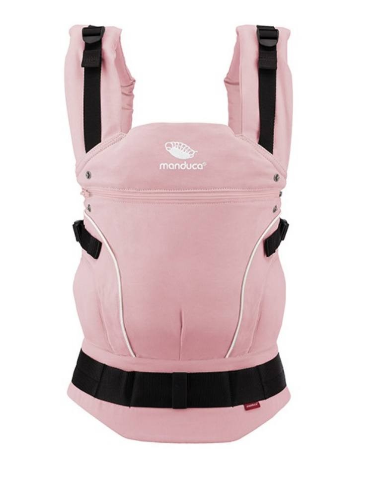Manduca First Full Buckle Carrier PureCotton Rose