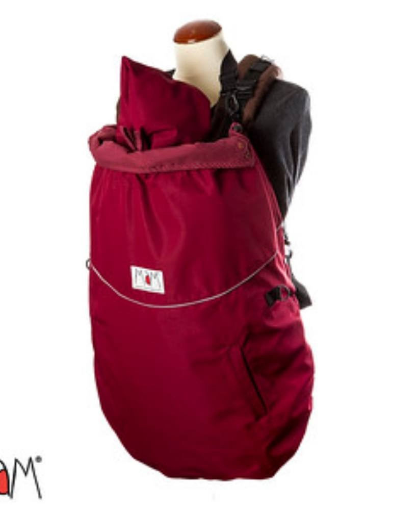 MaM All-Season Combo FleX Babywearing Cover (3-in-1) Rosewood Red