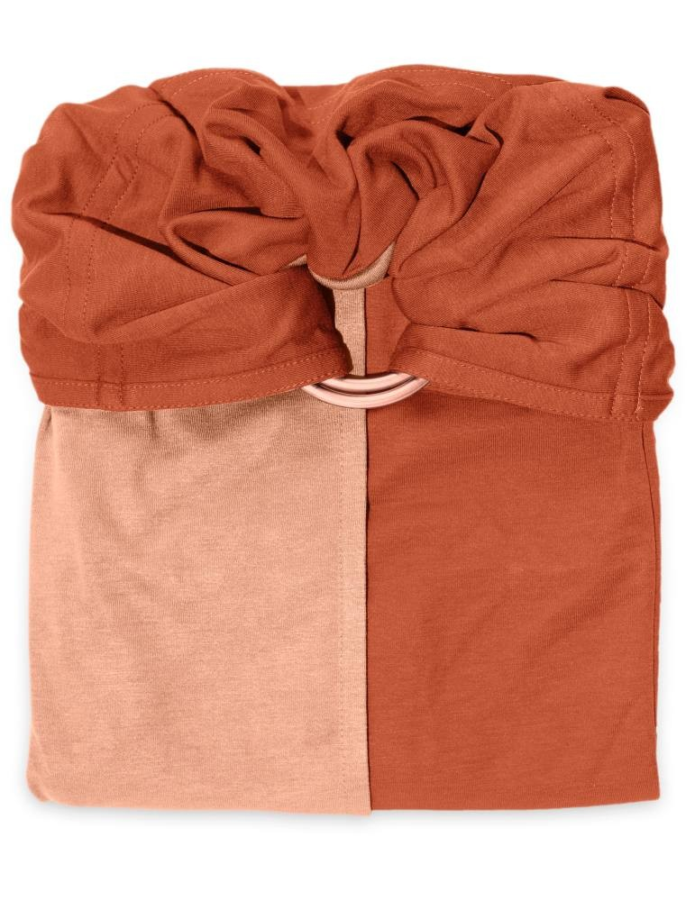 Love Radius (JPMBB) Little Baby Wrap Without A Knot Ring Sling Nude, Caramel