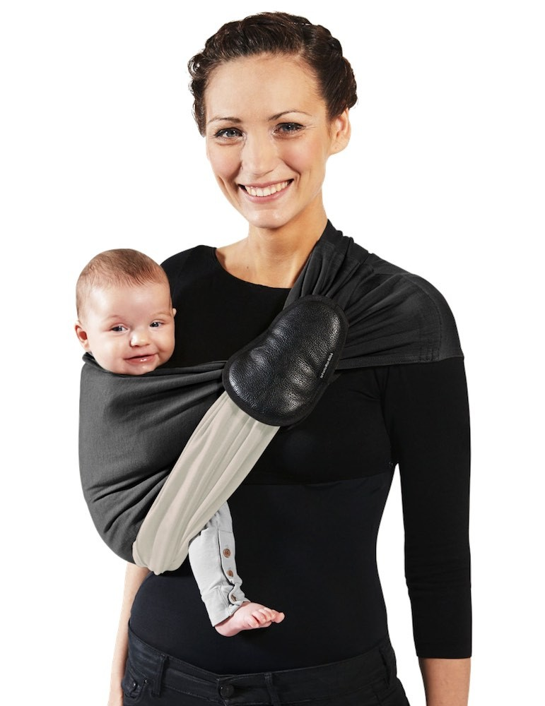 Love Radius PESN (Little Baby Wrap Without A Knot) Black, Ecru