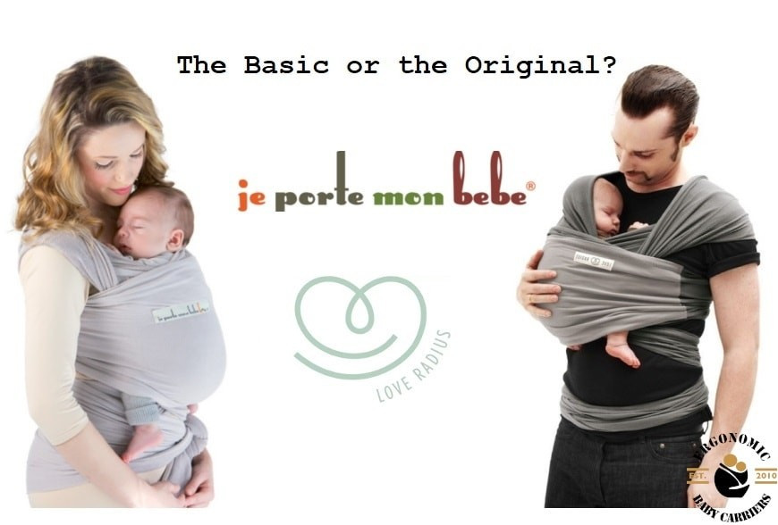 What is the difference between the Original and the Basic wrap by Love Radius / JPMBB ?