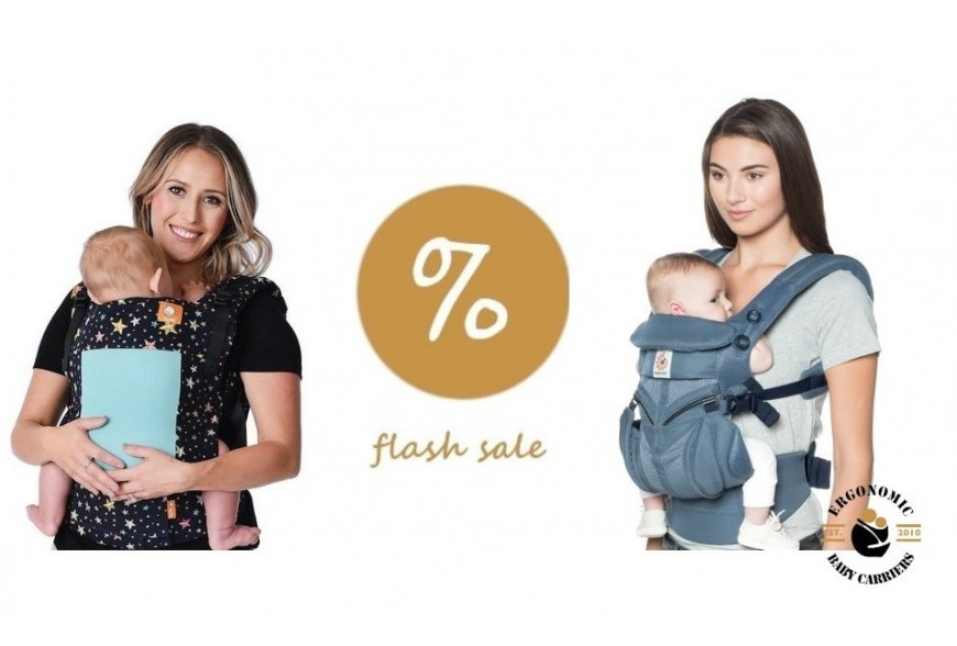 Flash Sale : Best baby carriers for summer and hot weather babywearing