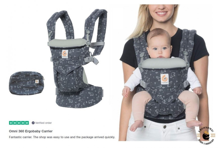 10 reasons to choose Ergobaby Omni 360 All-in-One Baby Carrier