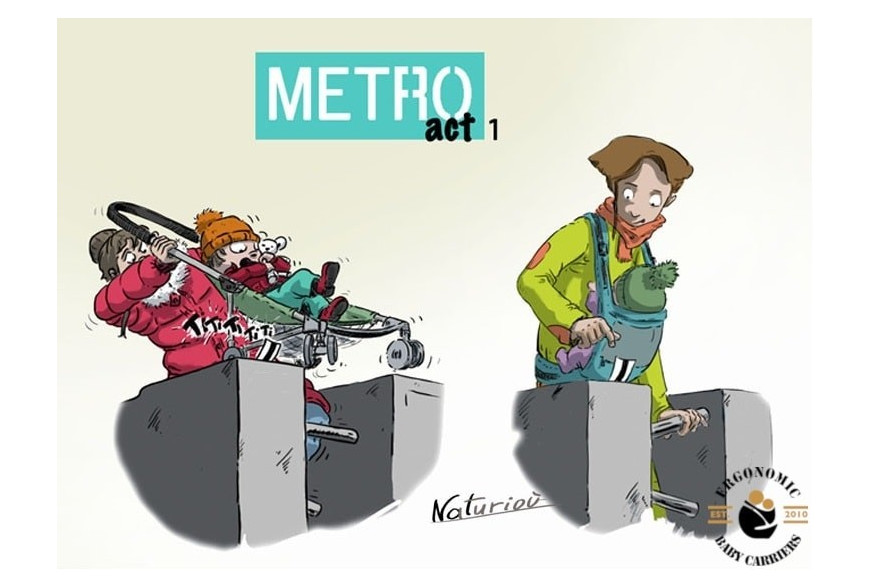 The Joy of Babywearing - Metro act1