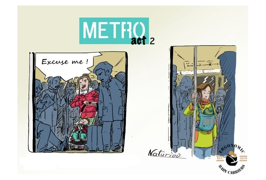 The Joy of Babywearing - Metro act 2