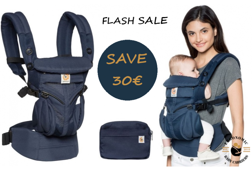 Flash Sale : One more reason to choose Ergobaby Omni 360 Cool Air Mesh All-in-One Midnight Blue