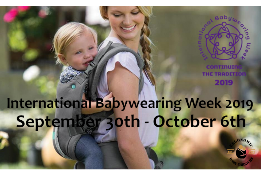 International Babywearing Week (IBW) 2019