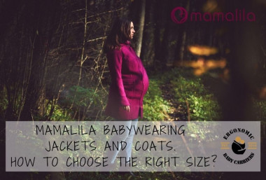 Mamalila babywearing jackets and coats. How to choose the right size?