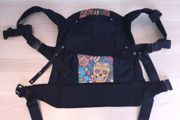 Rose and Rebellion Big Kid Carrier with hood