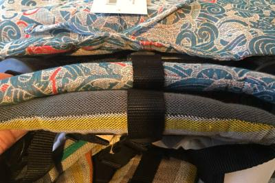 LennyLamb vs Fidella Onbuhimo - shoulder straps difference