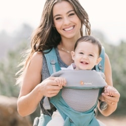 babycarrier with mesh fabric ergobaby360