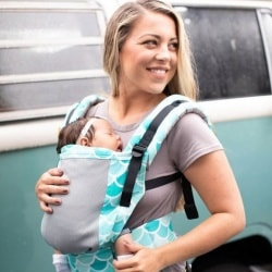 babycarrier with mesh fabric Tula
