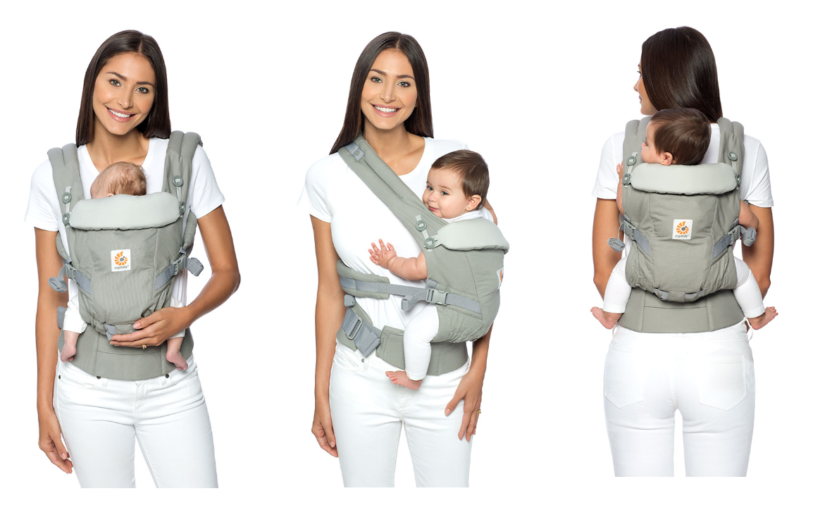 Ergobaby Adapt 3 carry positions