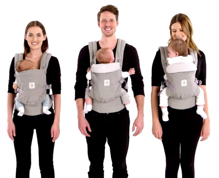 Ergobaby Adapt Adjustable Baby Carrier is growing with your child