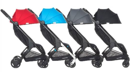 Ergobaby Metro Compact City Stroller Red Black Gery blue