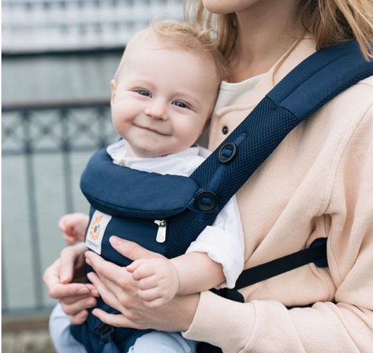Ergobaby Omni 360 Cool Air Mesh - Face Out Carry Position
