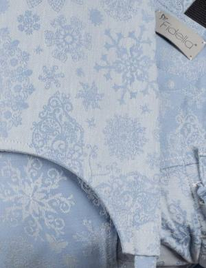 Fidella Fusion Babysize Full Buckle Baby Carrier - classic iced butterfly light blue