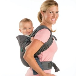 Infantino Flip 4-in-1 Baby Carrier back carry