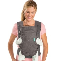 Infantino Flip 4-in-1 Baby Carrier Front Facing in Carry narrow seat