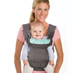 Infantino Flip 4-in-1 Baby Carrier Front Facing out carry