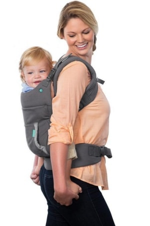 Infantino Cuddle Up Hoodie Carrier Back Carry