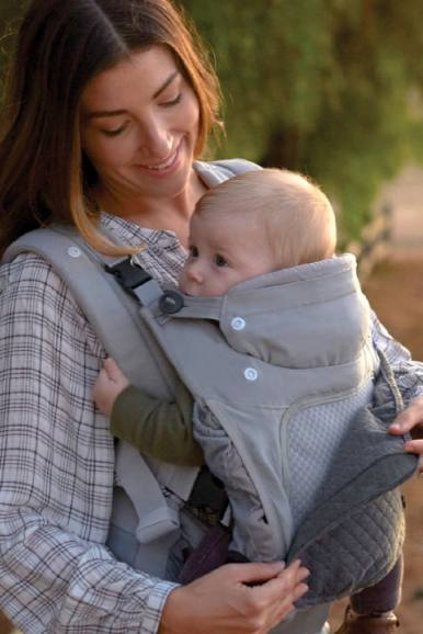 Infantino In Season  All-weather carrier with 5 layering options cool days