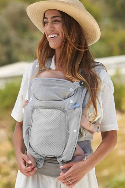 Infantino In Season  All-weather carrier with 5 layering options warm summer days