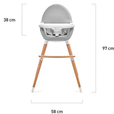 Dimensions of your KindeKraft Fini chair