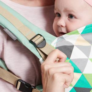 Kinderkraft Nino Baby Carrier - adjustable shoulder straps