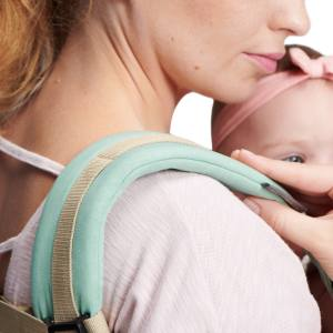 Kinderkraft Nino Baby Carrier with padded shoulder straps