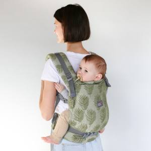 Love & Carry ONE+ Newborn Baby Carrier back carry