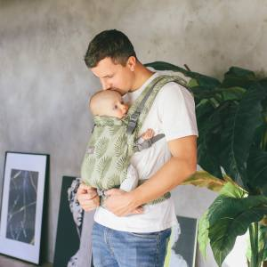 Love & Carry ONE+ Newborn Baby Carrier front carry