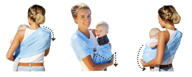 Lucky Sukkiri Mesh Ring Sling Ergonomic Carrier