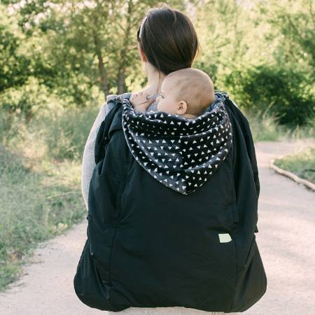 Lucky Babywearing Cover 3 in 1black back carry