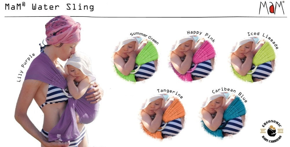 colours - MaM Water Ring Sling