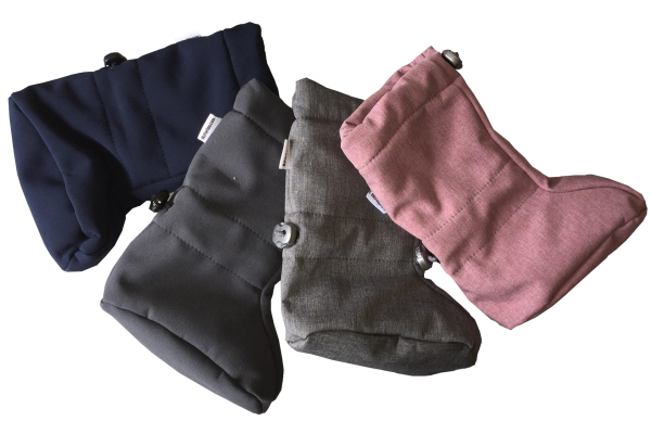 Naturiou Babywearing Softshell Booties 4 coulours