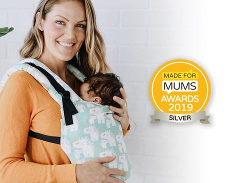 "Tula Free-to-Grow silver award 2019 ""MadeForMums"