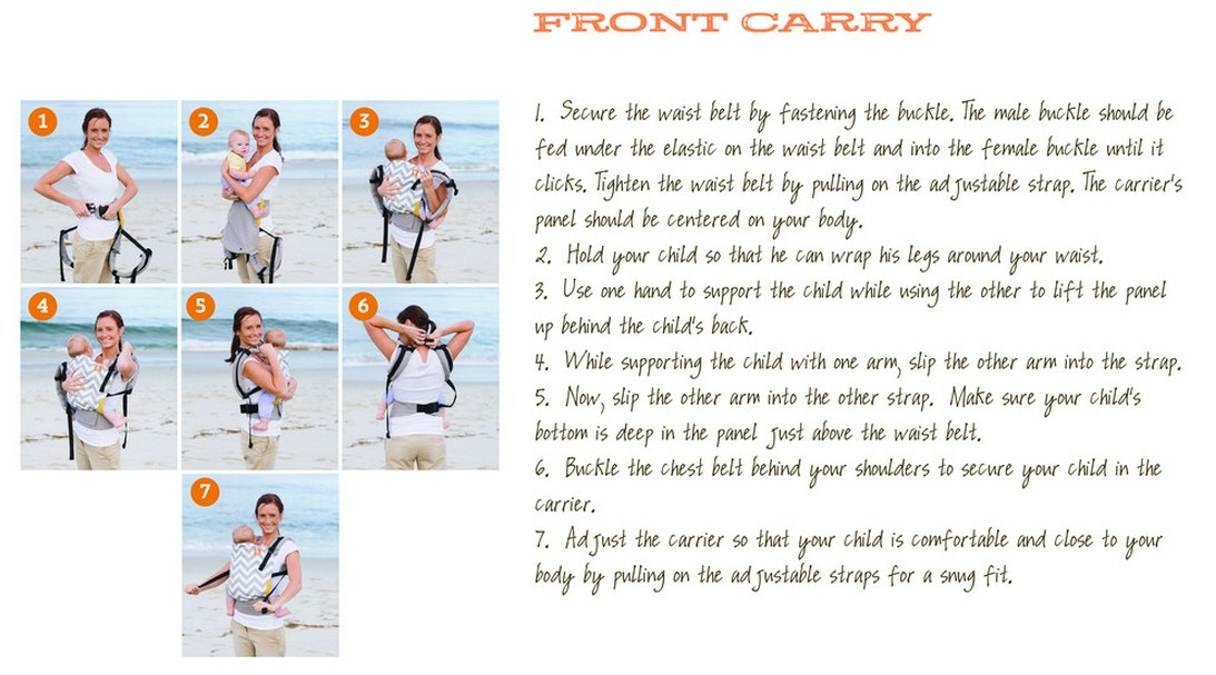 How to use Tula Toddler Carrier Front Carry