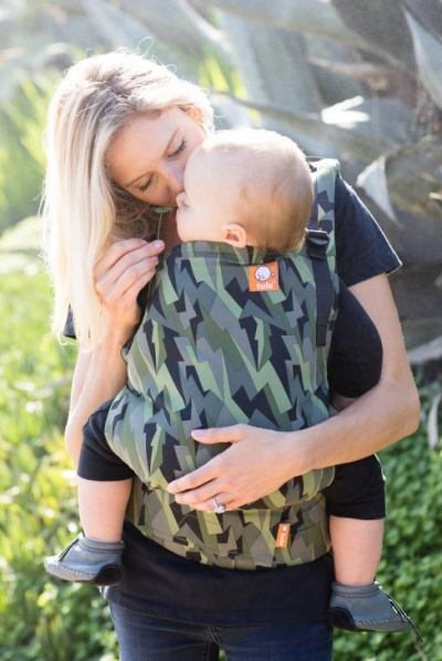 front carry Tula Toddler ergonomic baby carrier