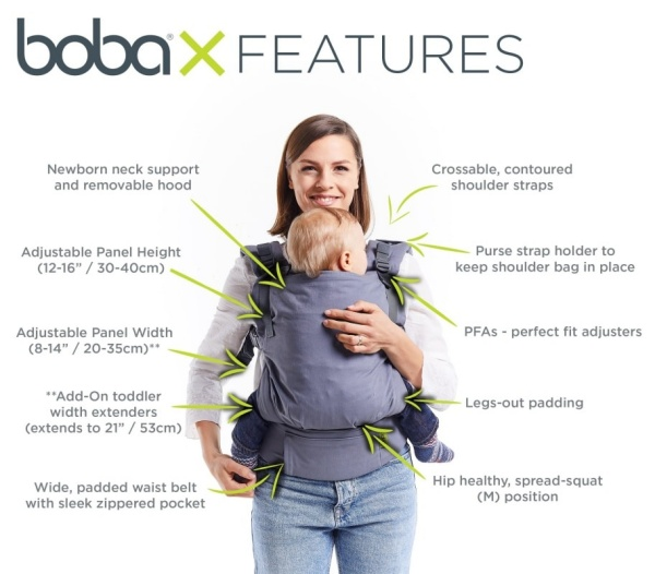 baby carrier boba x