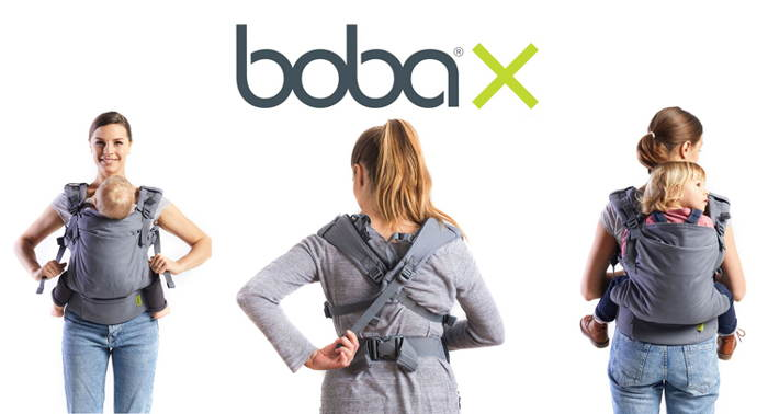 Micro-Adjustable Ergonomic Baby Carrier Boba X