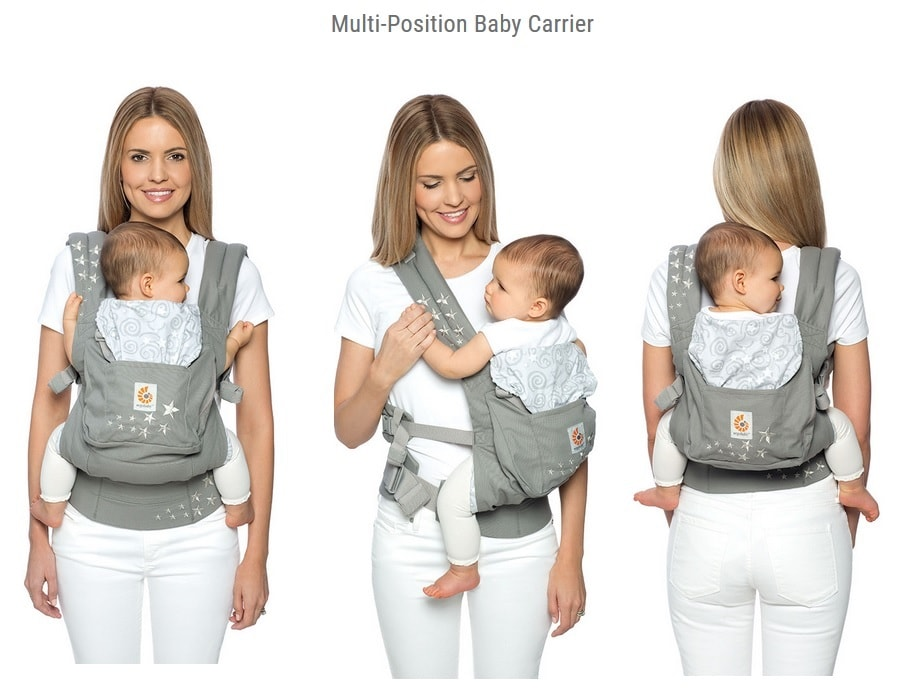 Ergobaby Original Baby Carrier Three Ergonomic Carry Positions